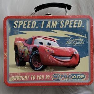 Disney Cars I am Speed Lunch Tin
